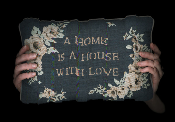 A home is a house with love,