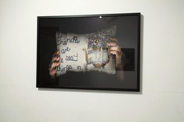 2012, 86 x 60cm, installation view