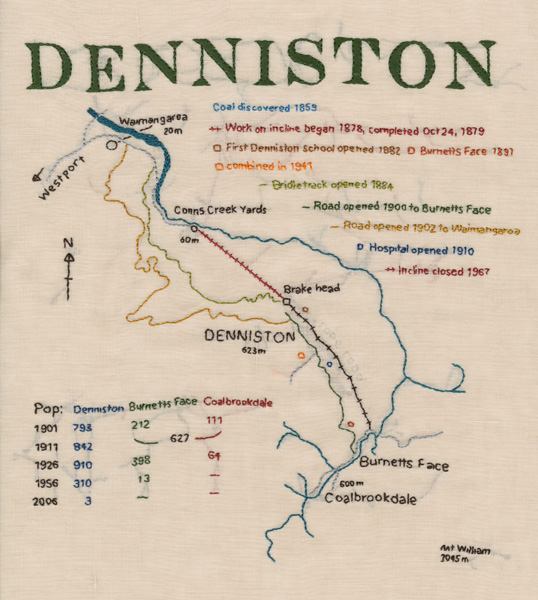 Denniston map sampler. (2014).