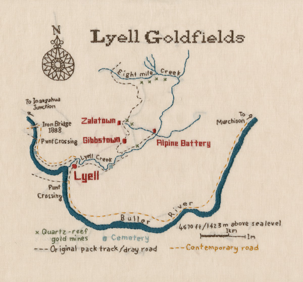 Lyell map sampler. (2013).